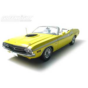 Dodge Challender Convertible 1971 Yellow (1/18)