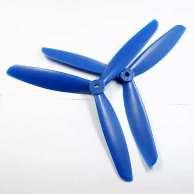 Multicopter 3Blade Propeller Set 6x4.5 Blue