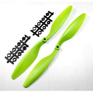 Multicopter Propeller Set 12x4.5 Green