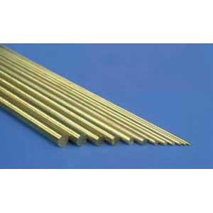 .020 Solid brass rod
